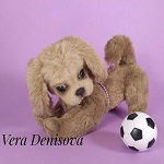 иконка игрушки собачка с мячиком