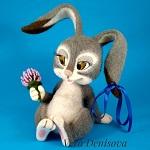 иконка игрушки зайчика