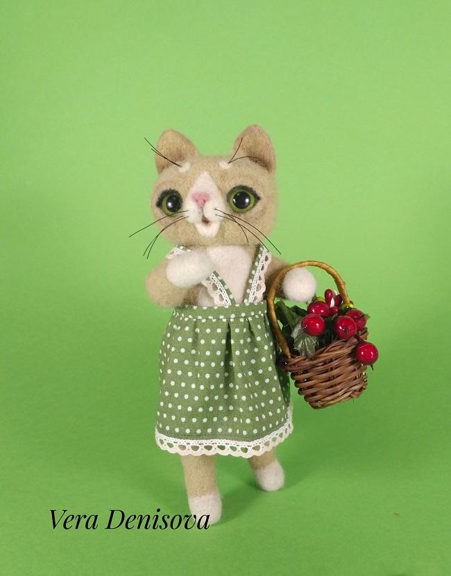Купить игрушку Кошка Варя