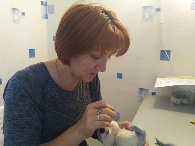 Игрушки Ежик автор Вера Денисова