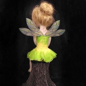 кукла девочка феечка из шерсти