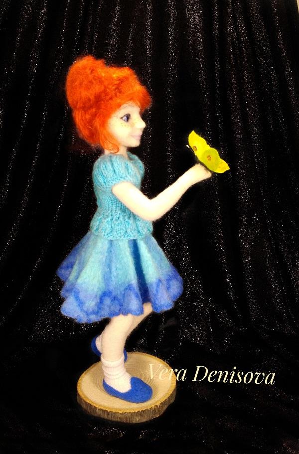 купить куклу из шерсти