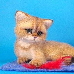 котенок с перышком купить